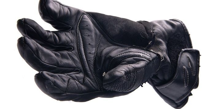Rubberized Knuckle Milwaukee Men/'s Perforated Motorcycle Leather Glove Gel Palm