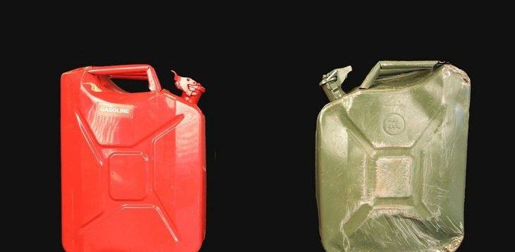 Metal vs Plastic Gas Can