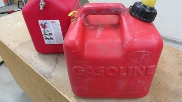Plastic Gas Can Swelling