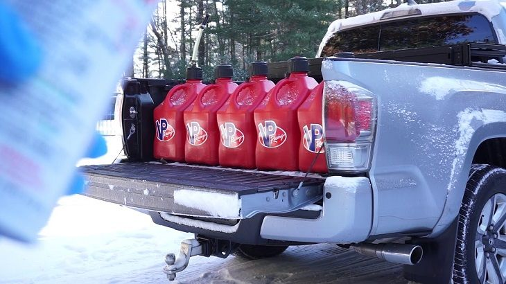 Storing Gas Cans in Garage