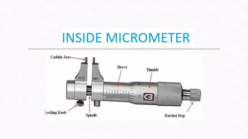 Inside Micrometer Definition